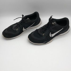 NIKE Flex Trainer 6 Training Shoe Black Sz 10